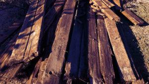 Junk Removal: Lumber