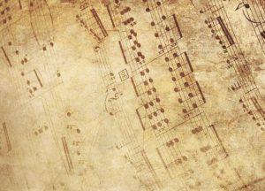 Sheet Music Place Mats