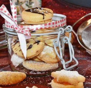 Baked Cookies in a Jar