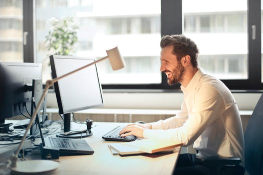 Men Using Junk Removal Web App
