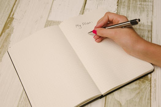 Write Your Ideal Plans